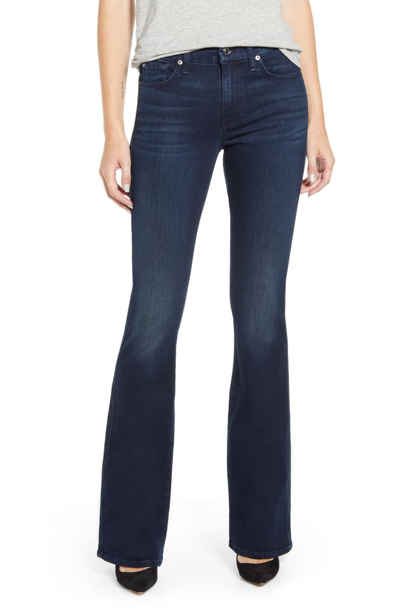 7 FOR ALL MANKIND<SUP>®</SUP> A-Pocket Flare Leg Jeans, Main, color, DESERT WATCH