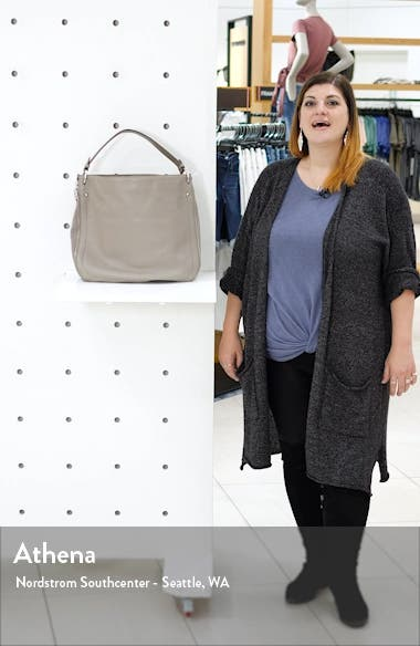 Jody Convertible Leather Hobo Bag, sales video thumbnail