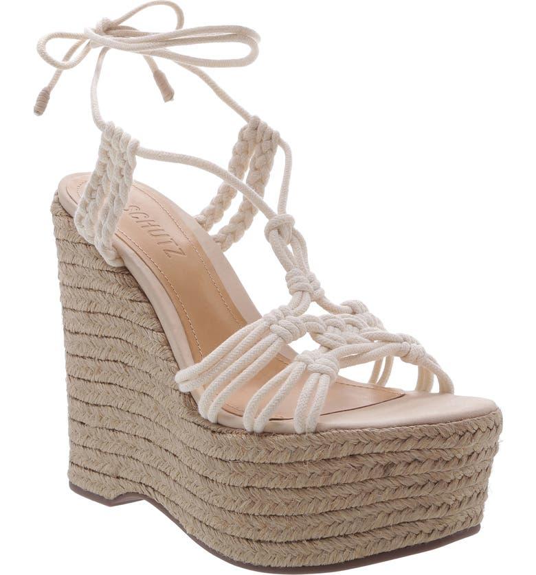 SCHUTZ Macris Platform Wedge Sandal, Main, color, 710