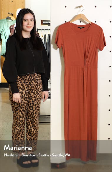 Ava Lulu Short Sleeve Maxi Dress, sales video thumbnail