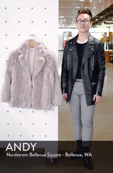 Luna Faux Fur Jacket, sales video thumbnail