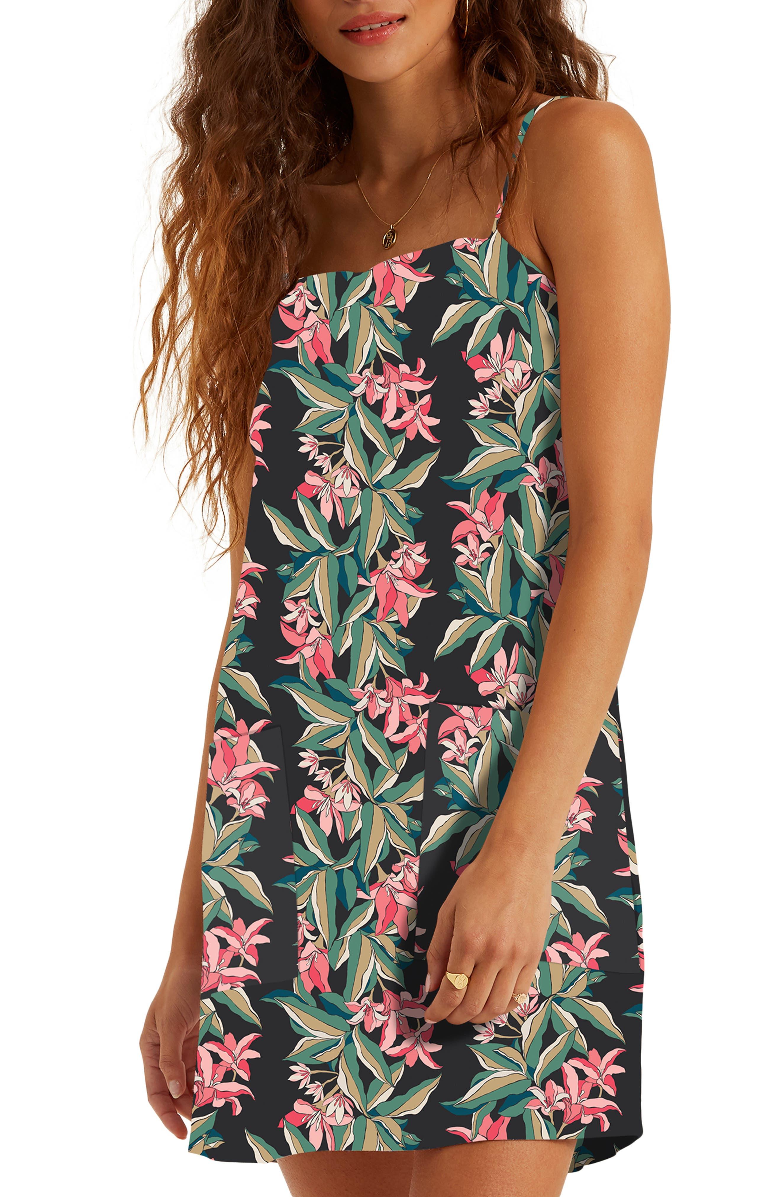 Image of Billabong Floral Print Slipdress