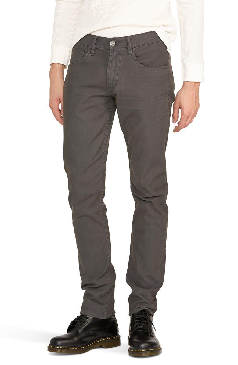 HUDSON JEANS Blake Slim Straight Leg Jeans, Main, color, DARK GREY