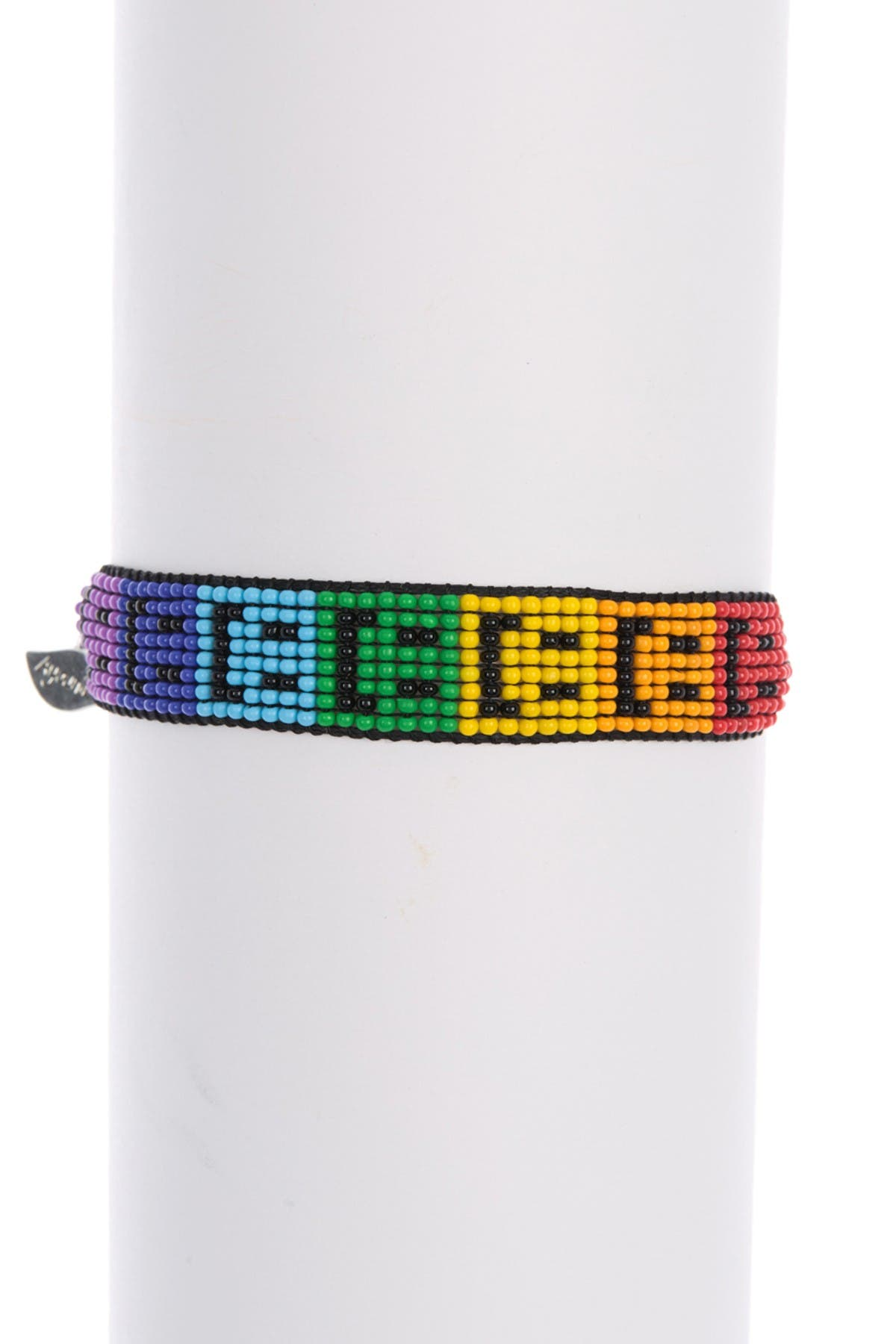 Image of AYOUNIK Rainbow Smiley Beaded Friendshp Bracelet