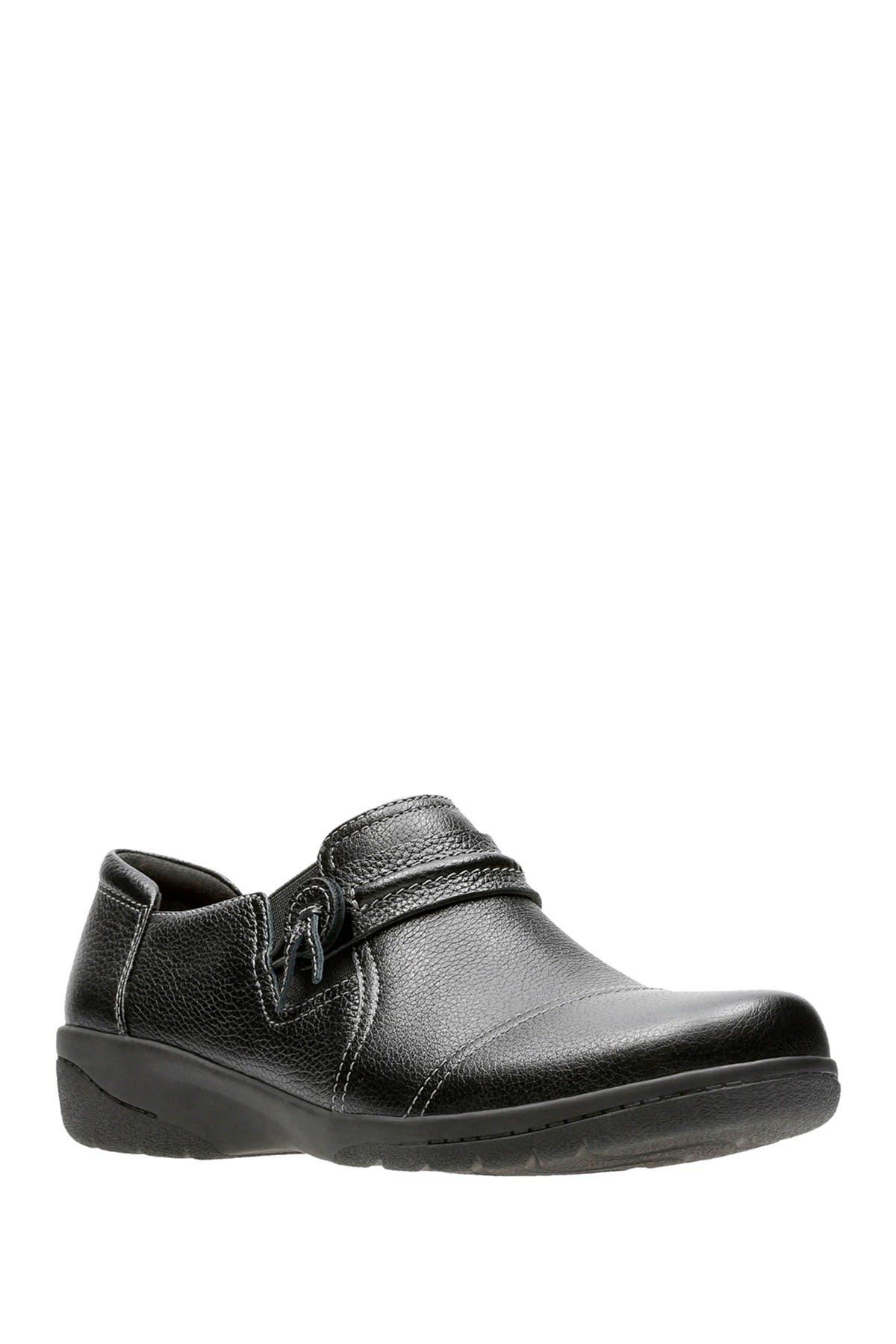 Clarks   Cheyn Madi Leather Slip-On