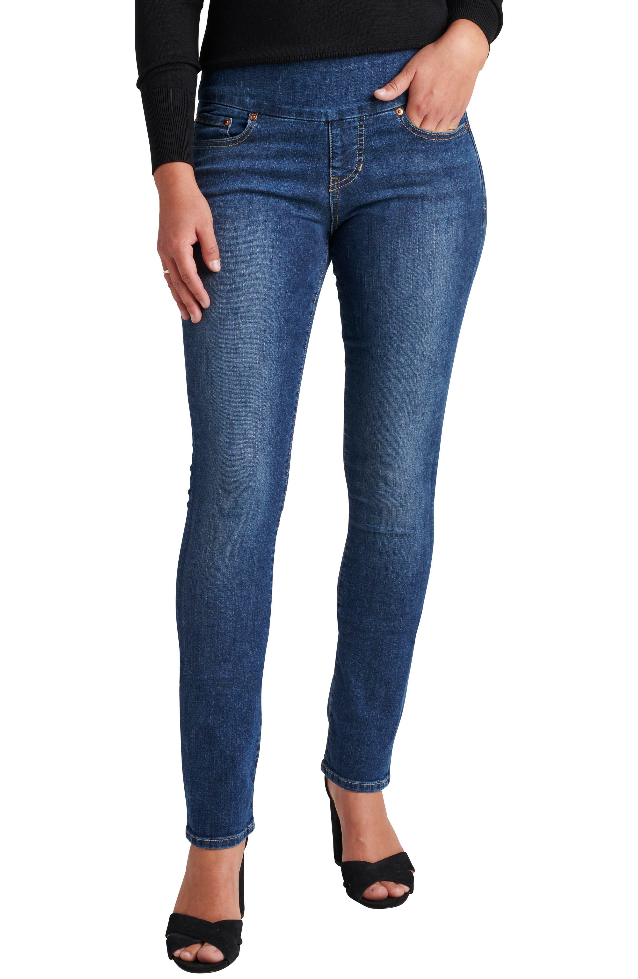 Peri Pull-On Slim Jeans