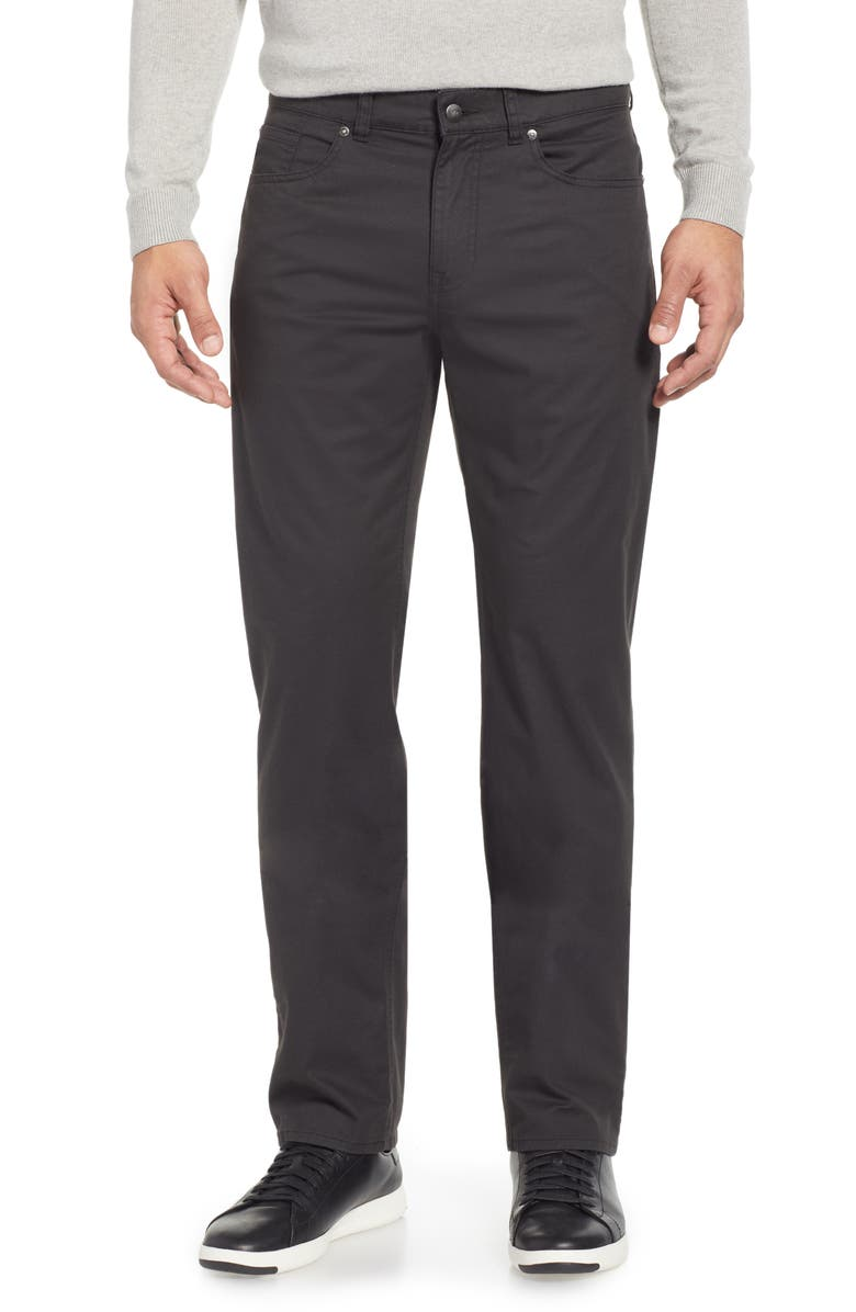 PETER MILLAR Soft Touch Twill Pants, Main, color, 001