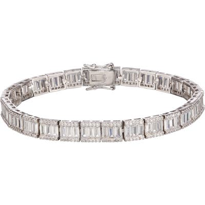 Nina Baguette Tennis Bracelet