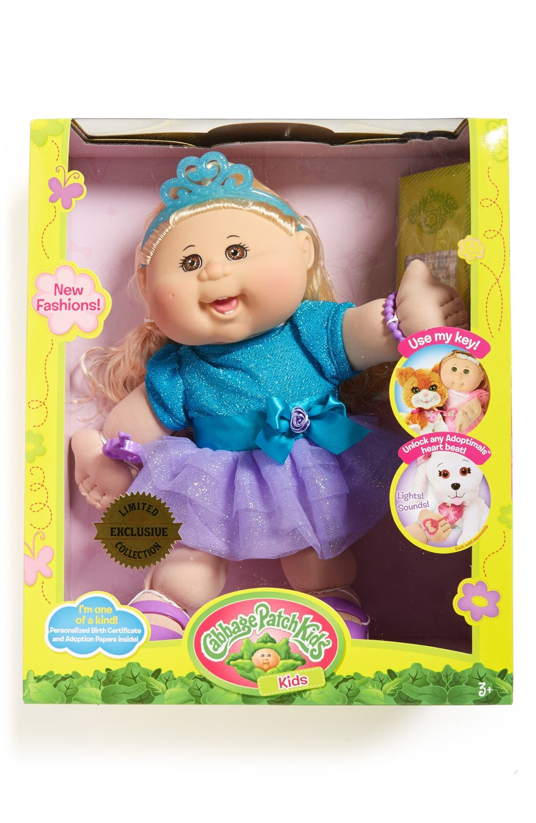 ,                             Soft Sculpted Cabbage Patch Doll,                             Main thumbnail 5, color,                             200