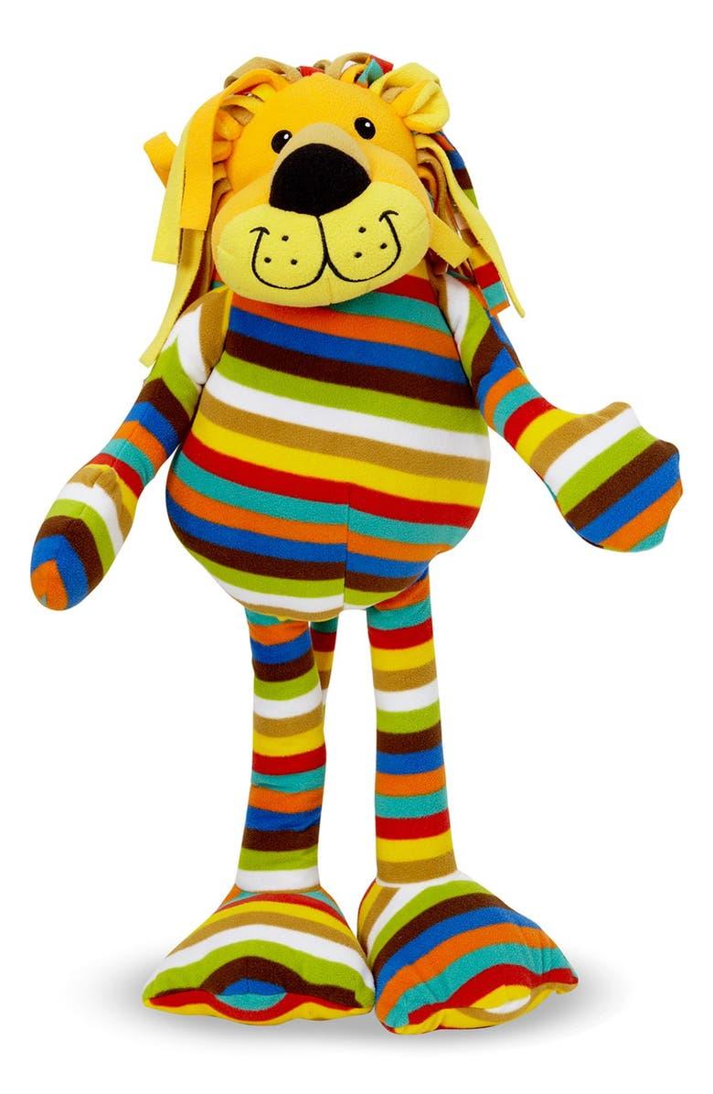 MELISSA & DOUG 'Beeposh - Elvis Lion' Plush Toy, Main, color, MULTI