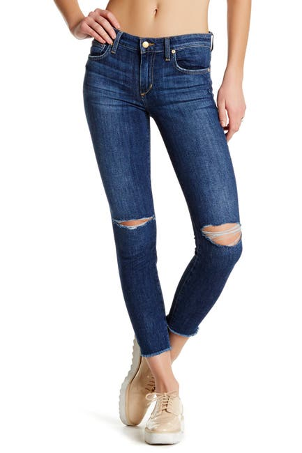 Image of Joe's Jeans Finny Distressed Fray Hem Jeans