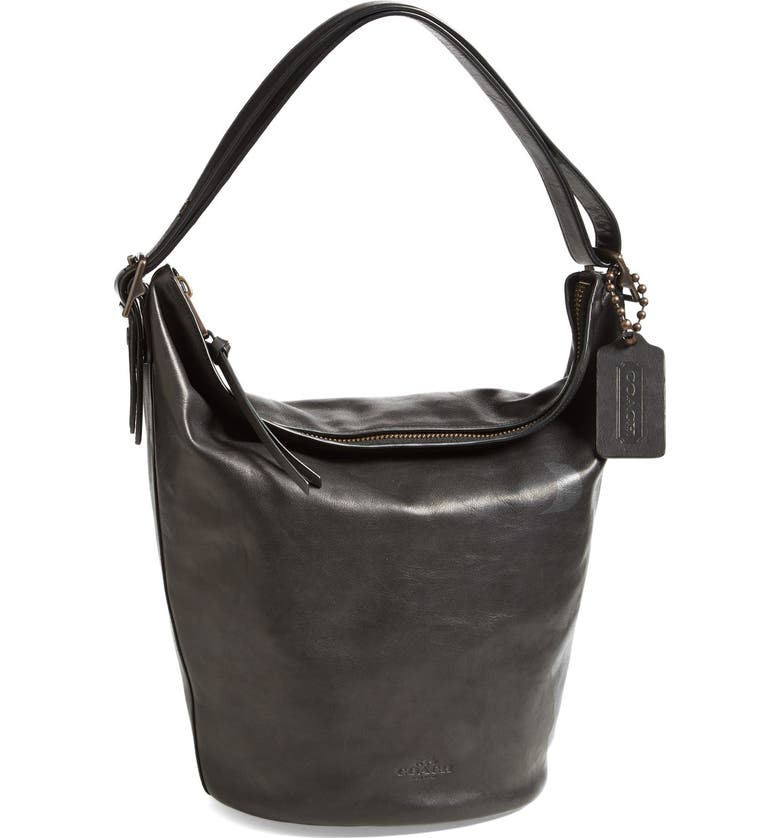 COACH 'Legacy Duffle' Leather Shoulder Bag, Main, color, 013