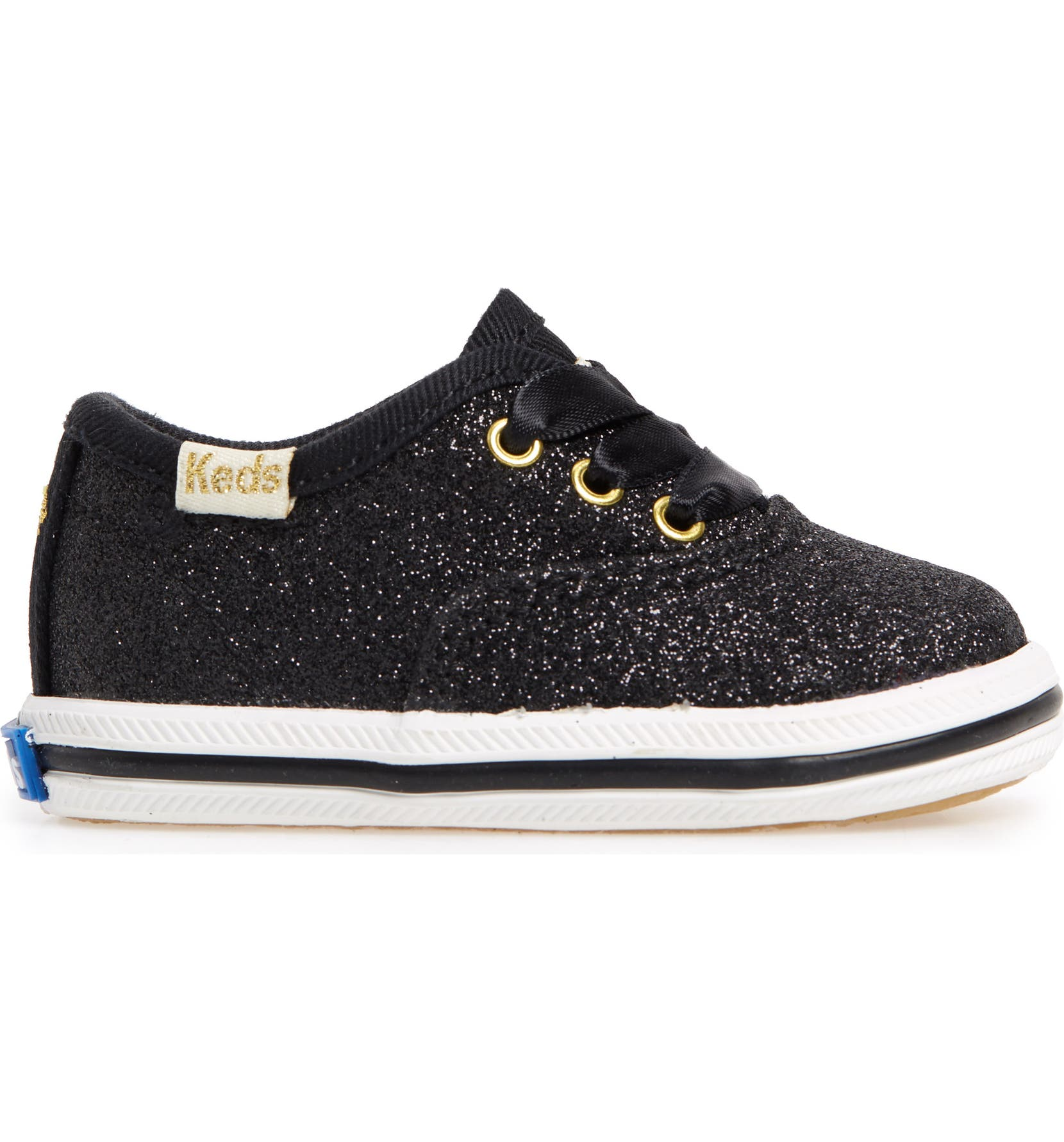 cc9f36431623 Keds® x kate spade new york Champion Glitter Crib Shoe (Baby) | Nordstrom