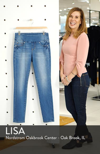 Nora Pull-On Skinny Jeans, sales video thumbnail