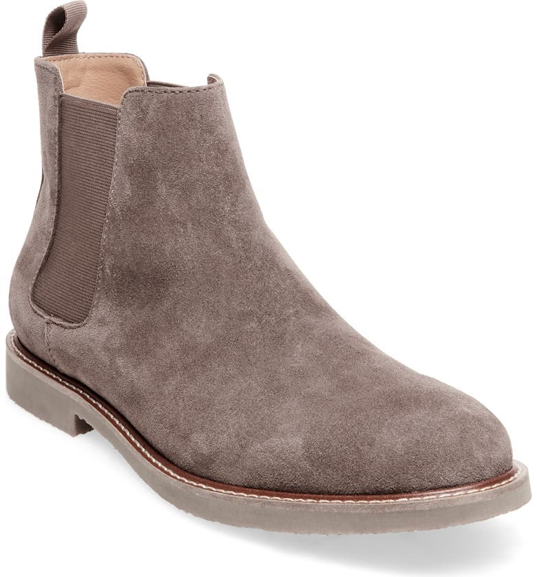 STEVE MADDEN Highline Chelsea Boot, Main, color, TAUPE SUEDE