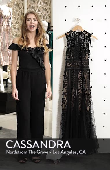 Bronx And Banco Saba Fit Amp Flare Gown Nordstrom