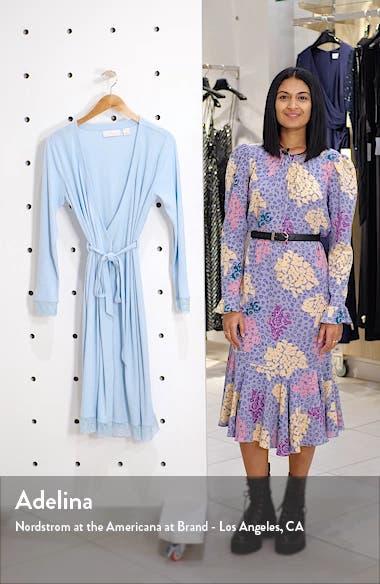 Lace Trim Robe, sales video thumbnail