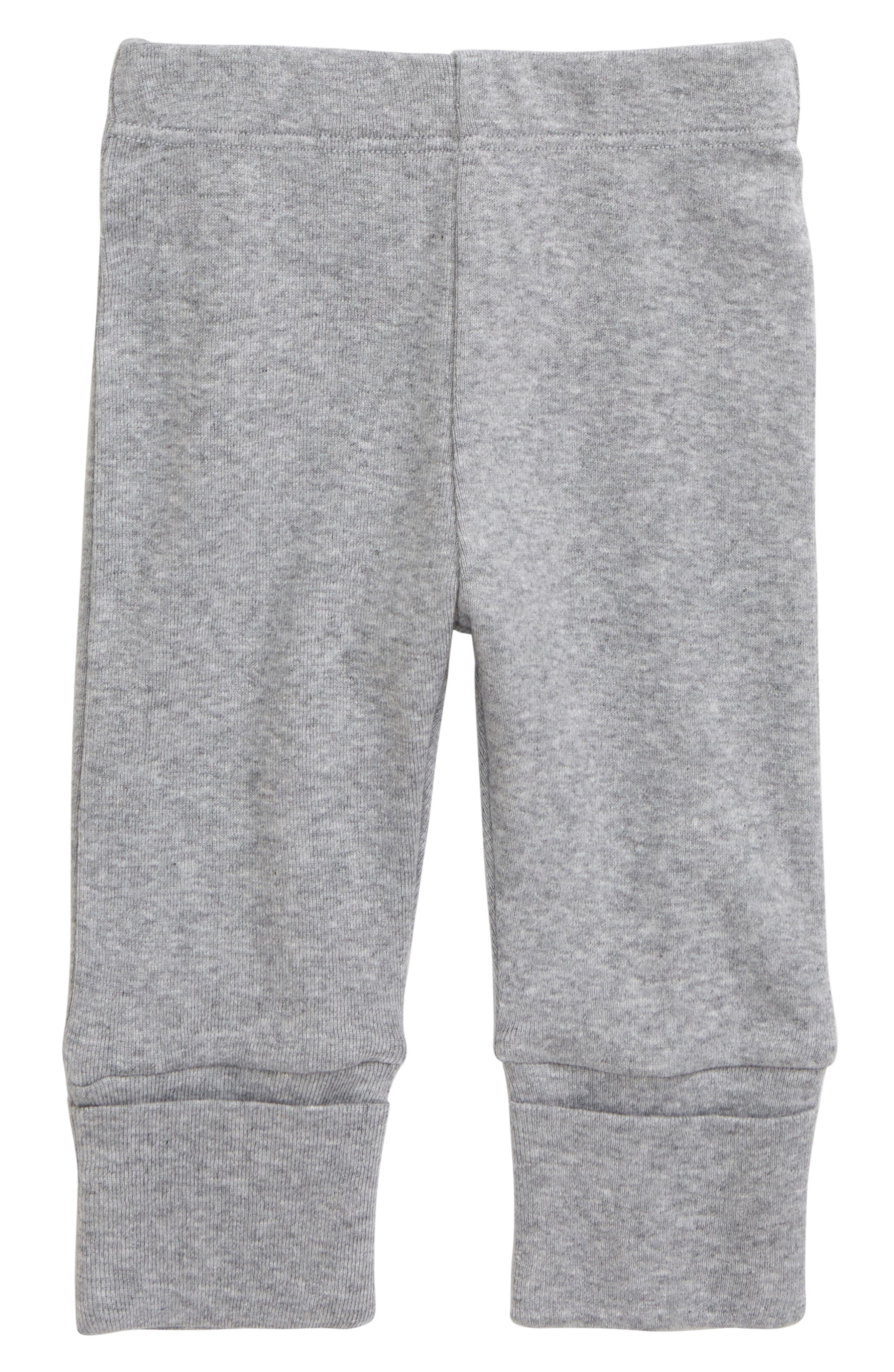 Infant Boys Monica  Andy Hello Baby Organic Cotton Pants Size Newborn  Grey