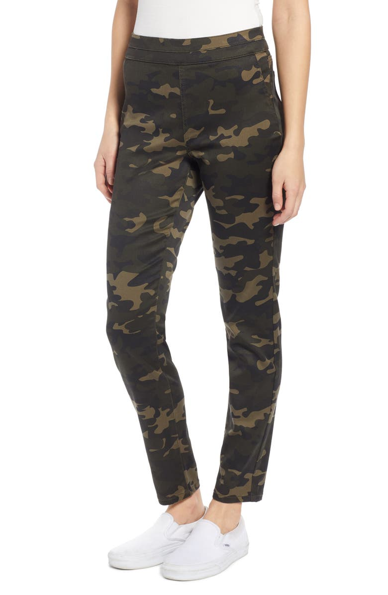 TINSEL Camouflage Pull-On Jeggings, Main, color, CAMO PRINT