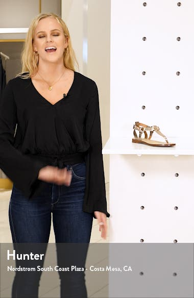 Rachel T-Strap Sandal, sales video thumbnail