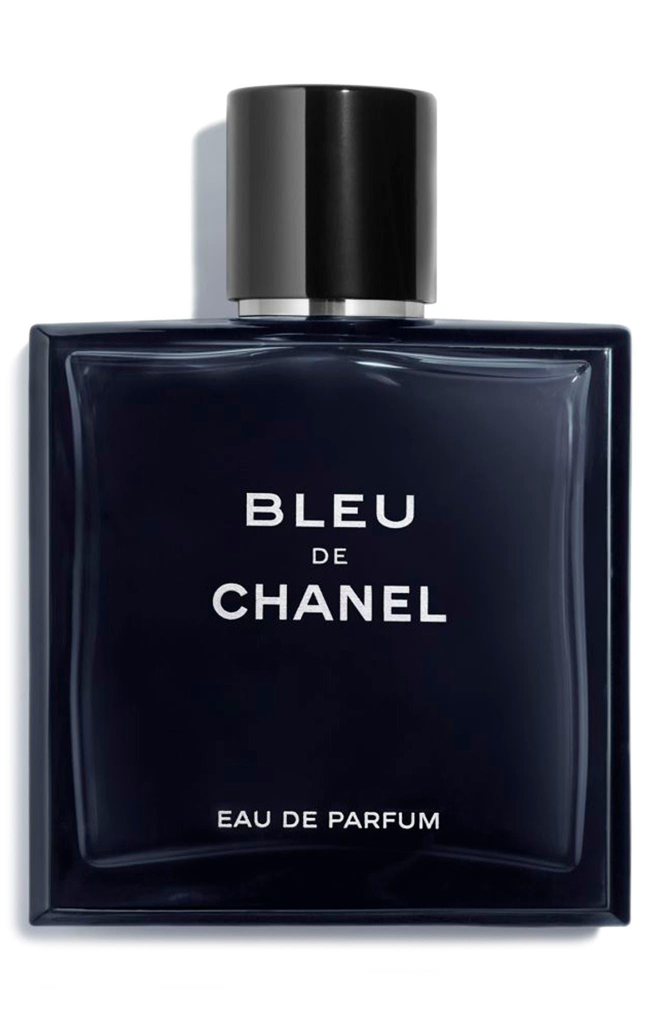 BLEU DE CHANEL Eau de Parfum Pour Homme Spray, Main, color, NO COLOR
