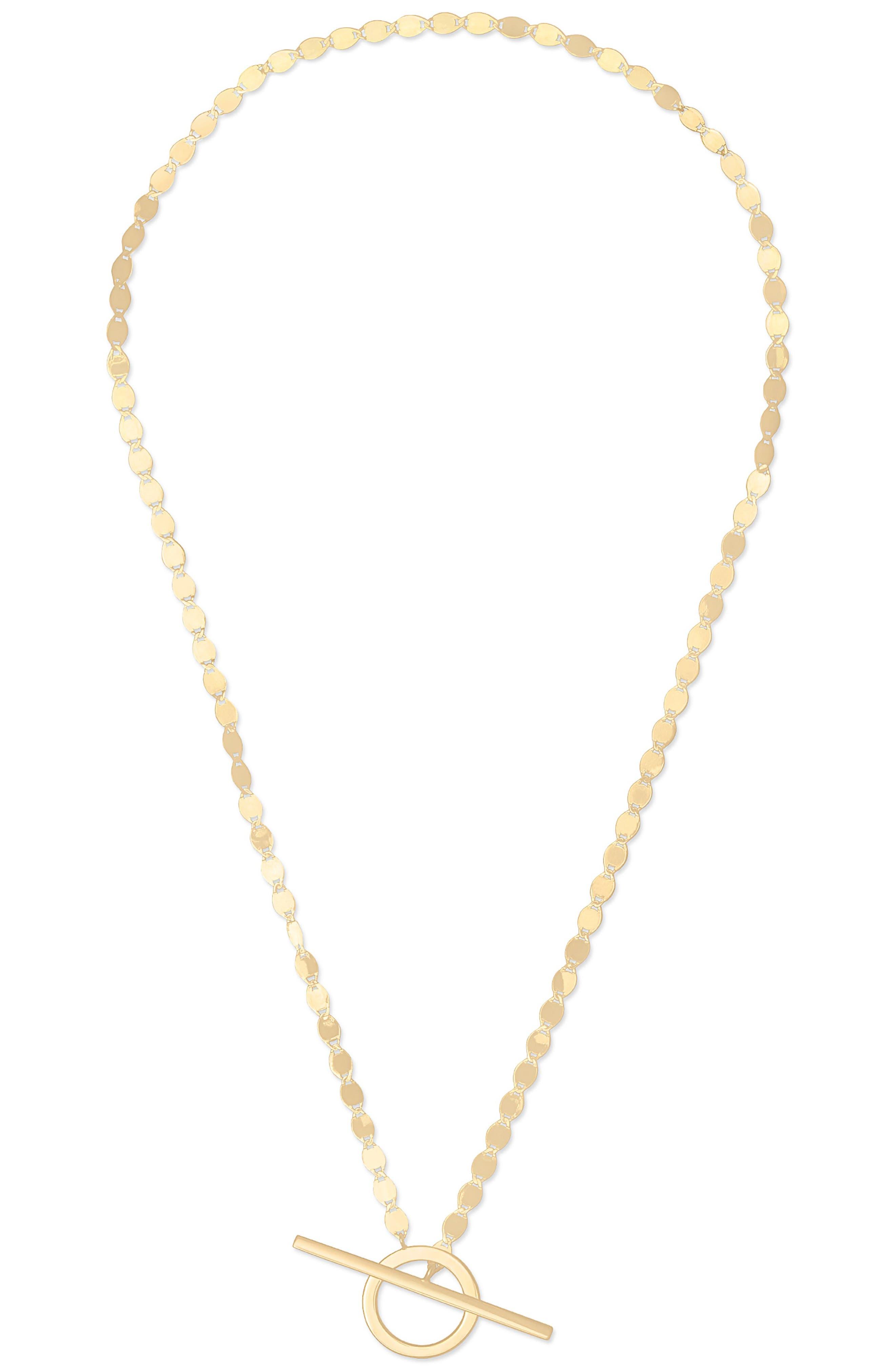 Toggle Pendant Necklace