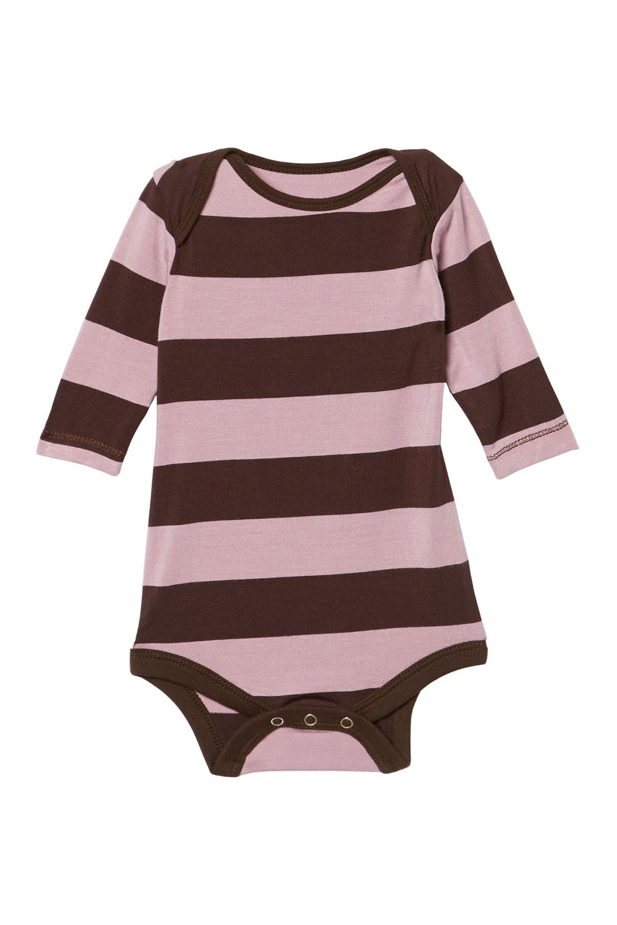 Image of KicKee Pants Striped One-Piece Bodysuit