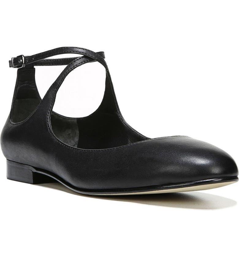 68b41fef93a77 Yovela Ankle Strap Flat