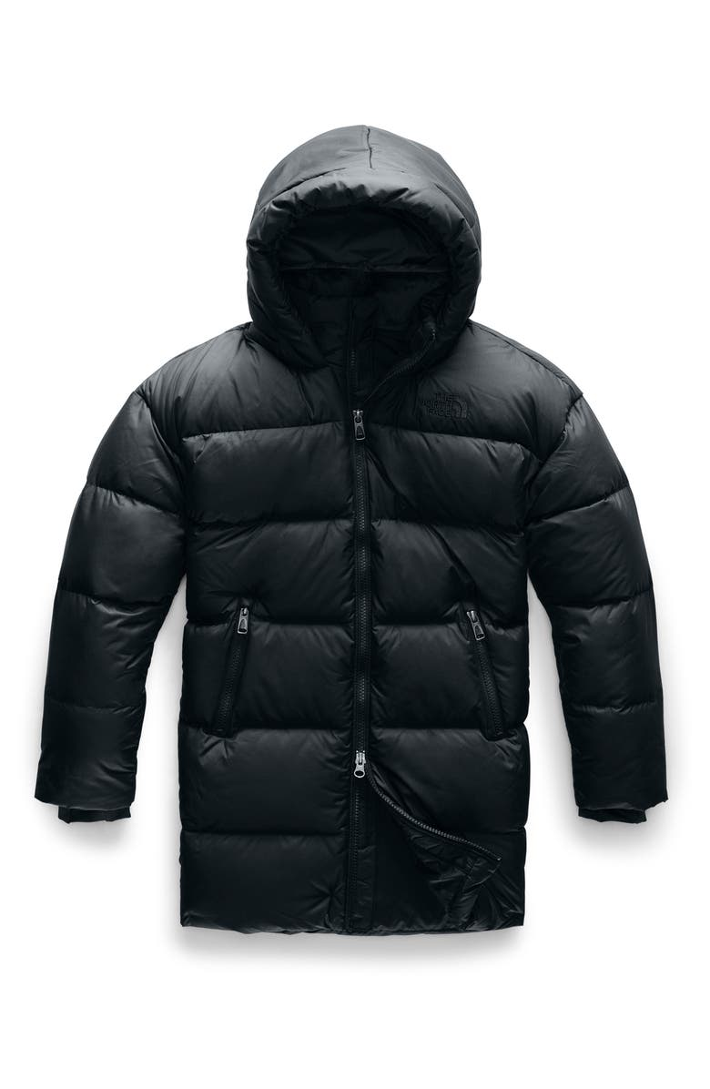 THE NORTH FACE Gotham 550 Fill Power Down Parka, Main, color, TNF BLACK