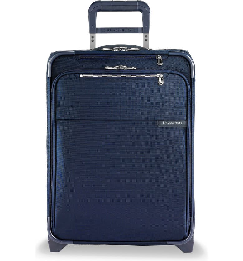 BRIGGS & RILEY 21-Inch Baseline Widebody International Rolling Carry-On, Main, color, NAVY