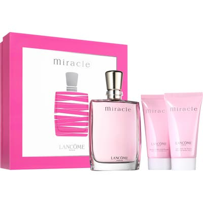 Lancome Miracle Eau De Parfum Set (Usd $127.50 Value)