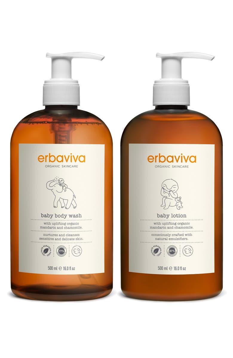 ERBAVIVA Baby Essentials Duo, Main, color, WHITE