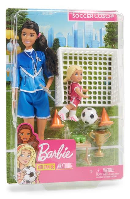 Image of Mattel Barbie(R) Soccer Coach Doll Playset