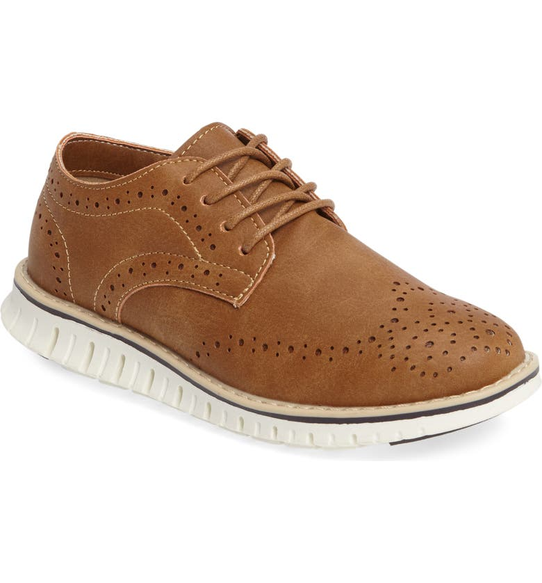 STEVE MADDEN Bmat Oxford Sneaker, Main, color, COGNAC