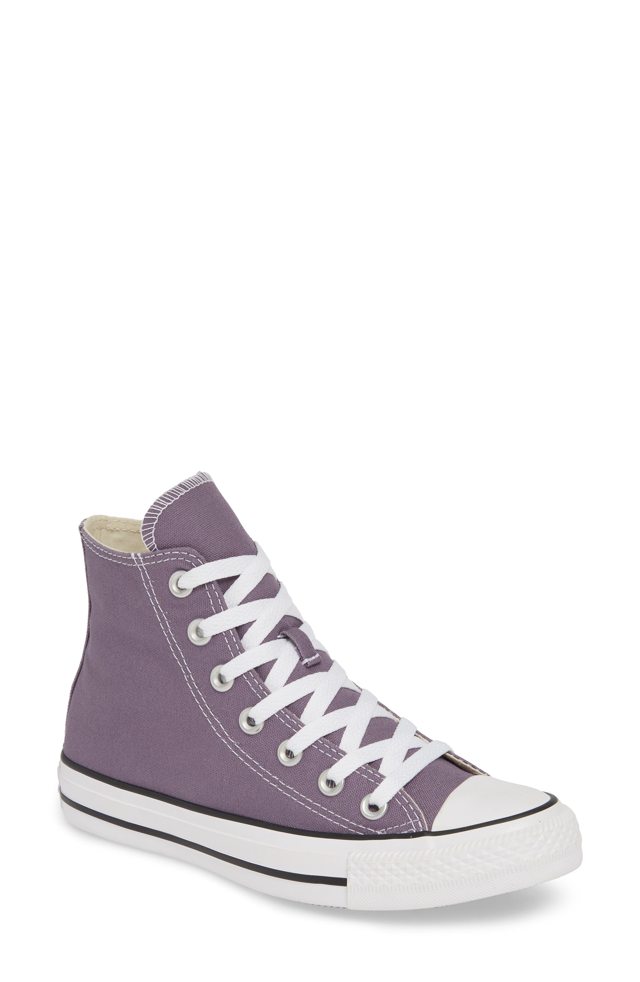 Converse Chuck Taylor All Star High Top Sneaker- Purple