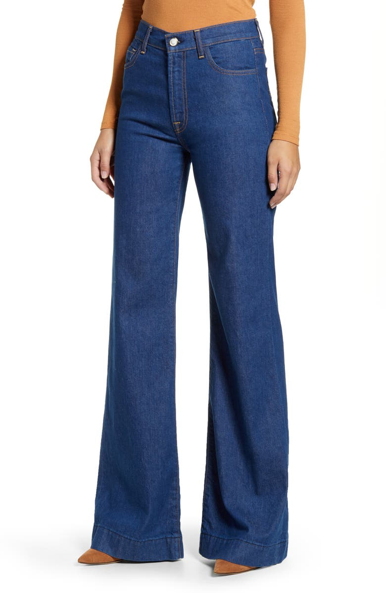 7 FOR ALL MANKIND<SUP>®</SUP> 7 For All Mankind Modern Dojo Wide Leg Jeans, Main, color, AVANT RINSE