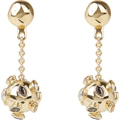Alexis Bittar Asteria Nova Sputnik Chain Drop Earrings