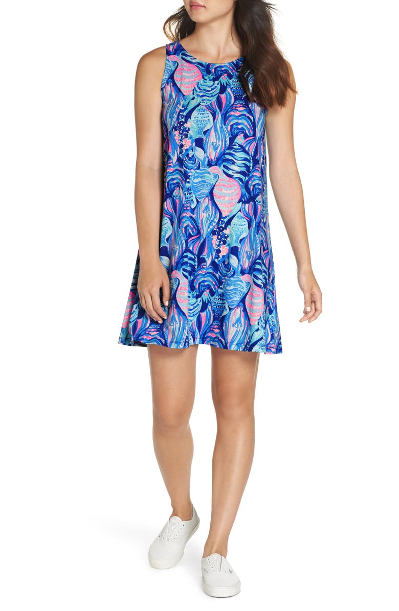 LILLY PULITZER<SUP>®</SUP> Kristen Shift Dress, Main, color, 403