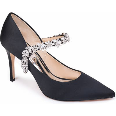 Badgley Mischka Esperanza Embellished Pump- Black