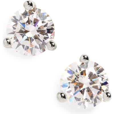 Nordstrom Round Cubic Zirconia Earrings