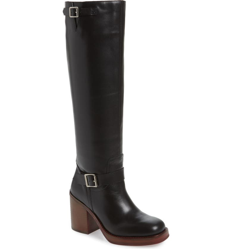 JEFFREY CAMPBELL Lottie-2 Knee High Boot, Main, color, 001