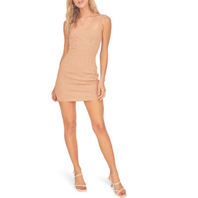 Astr The Label Daisy Minidress, Brown
