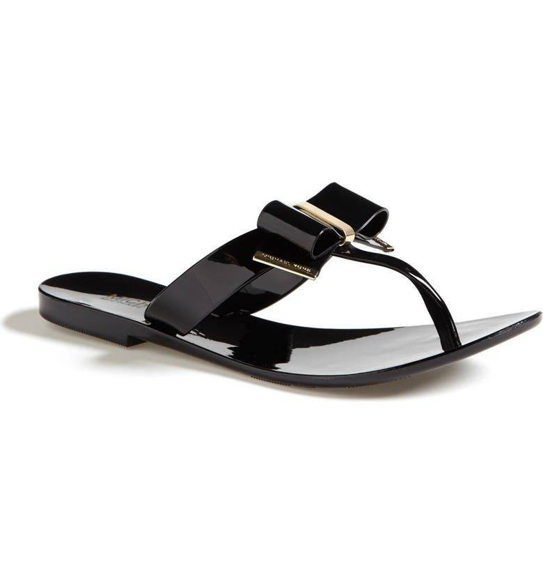 MICHAEL MICHAEL KORS 'Kayden' Sandal, Main, color, 001