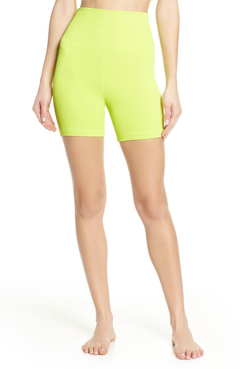 BEACH RIOT Rib Bike Shorts, Main, color, 300