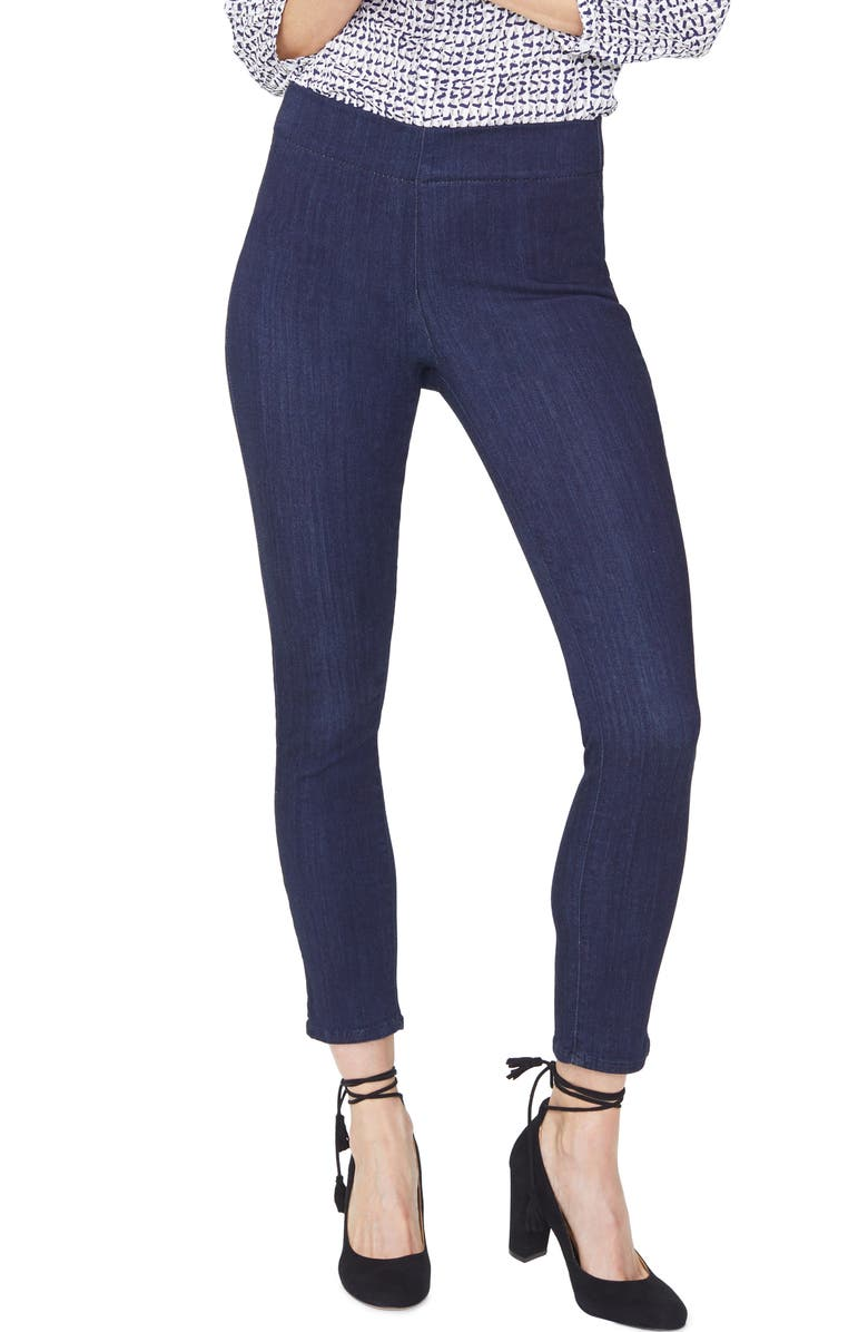 NYDJ Pull-On Ankle Skinny Jeans, Main, color, MABEL