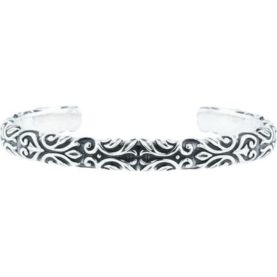 King Baby Engraved Cuff Bracelet