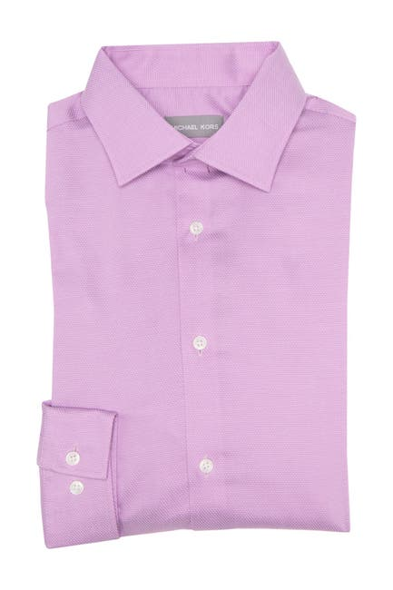 Image of MICHAEL Michael Kors Pin Dot Print Regular Fit Shirt