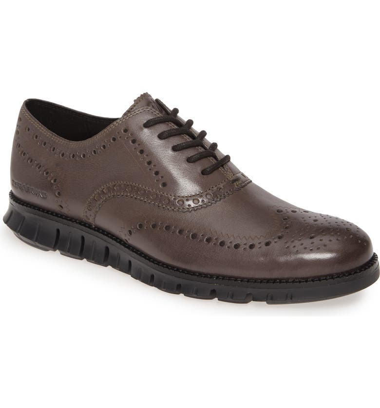 COLE HAAN ZeroGrand Wingtip Derby, Main, color, BURNISHED PAVEMENT LEATHER