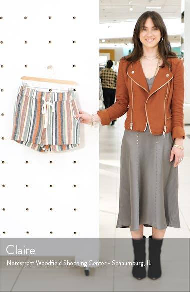 Stripe Linen Shorts, sales video thumbnail