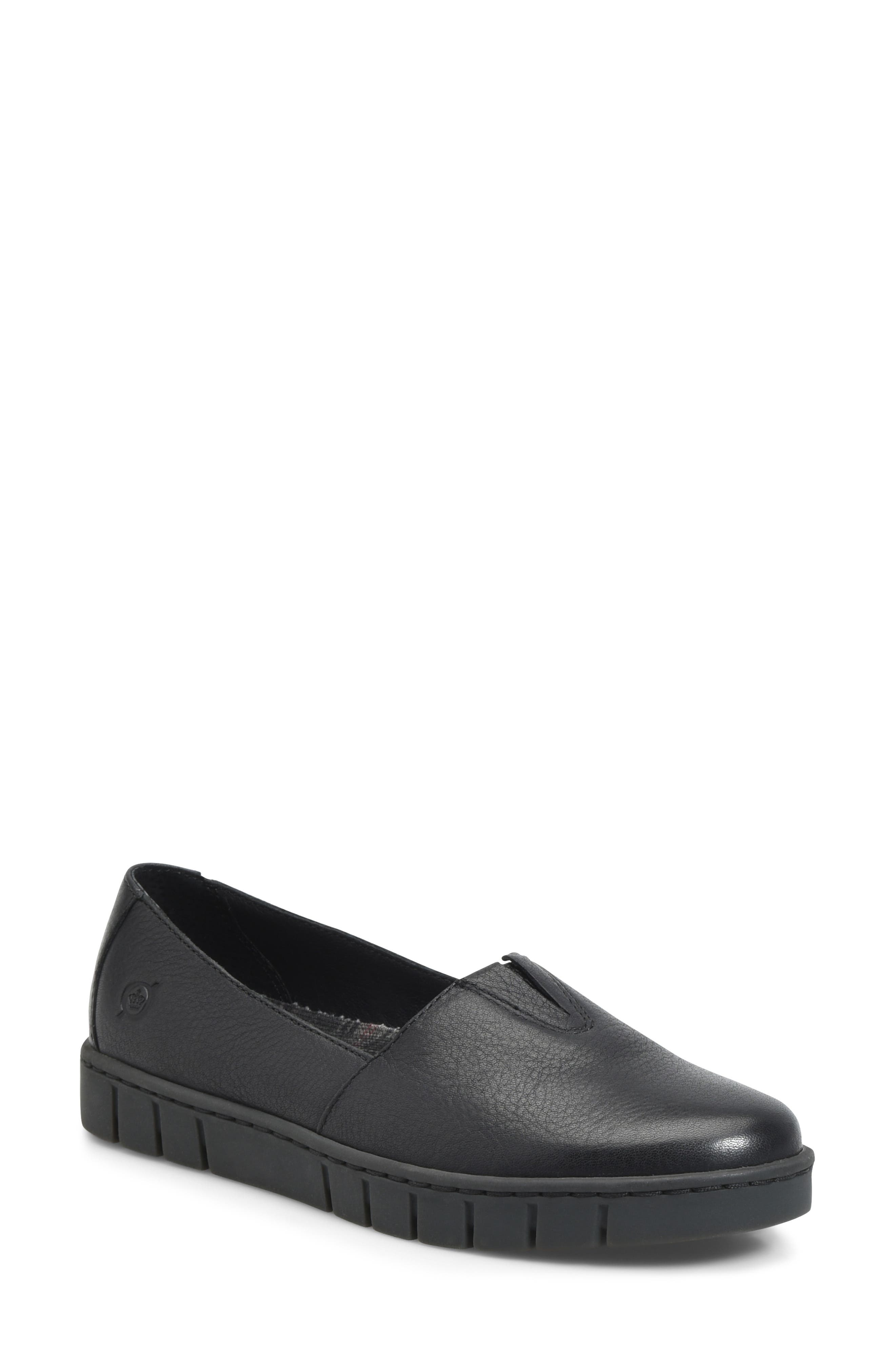 Congo Loafer, Main, color, BLACK LEATHER